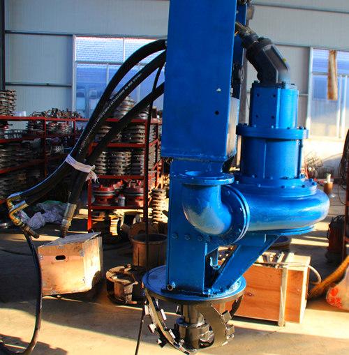 绞笼式清淤泥浆泵