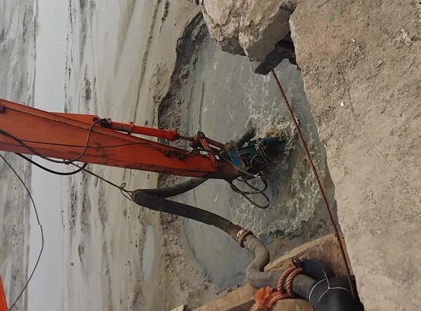 河道挖机清淤泵